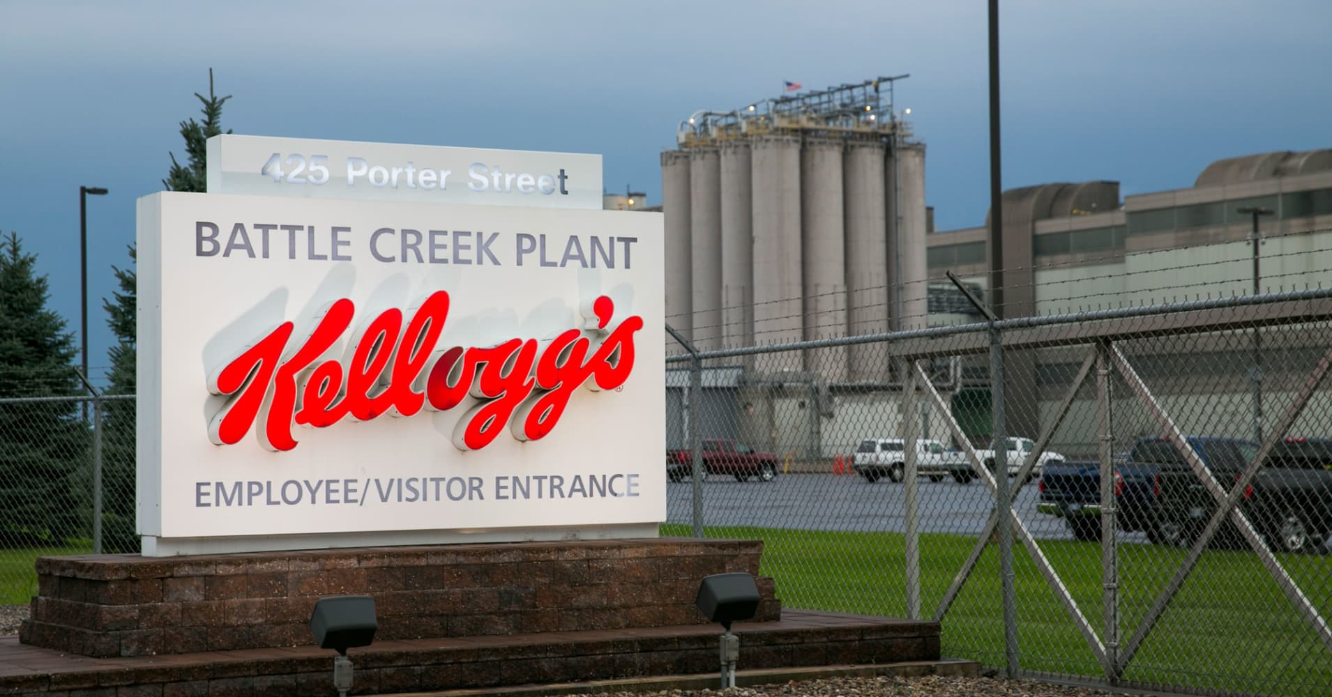 Nearly two dozen end up in hospital after chemical leak at Kellogg headquarters