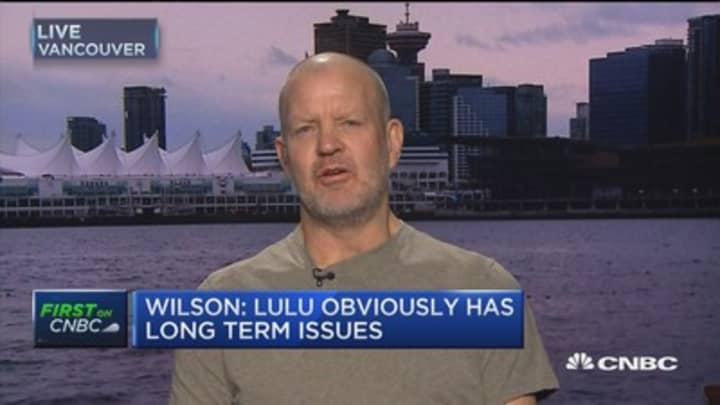 Lululemon founder: Under Armour is a weak company