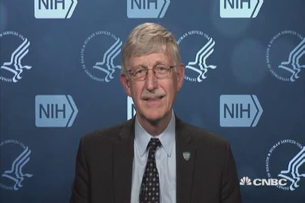 Collins: As far as I'm able to see, I'm the NIH director
