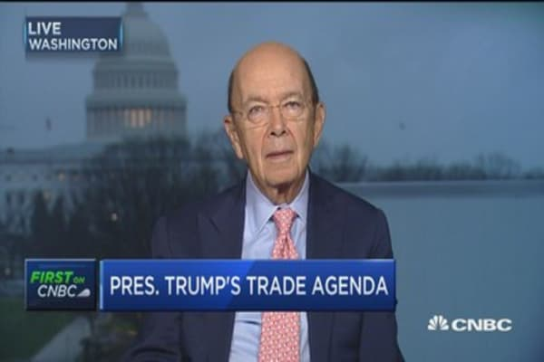 Sec. Ross on BAT: Administration will wait for House Ways & Means proposal