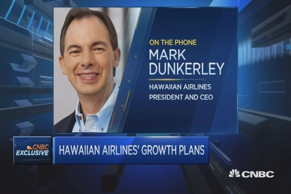Hawaiian Airlines CEO on travel ban impact