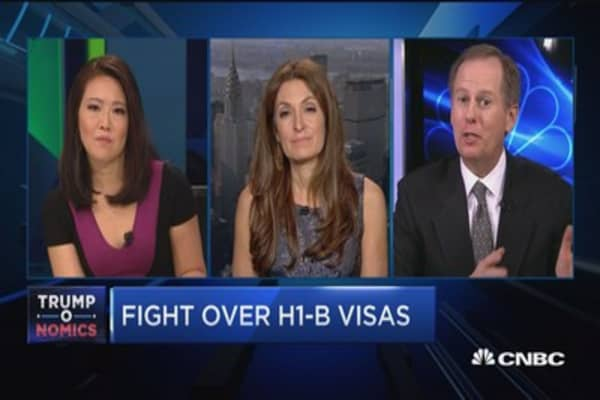 H1-B visa crackdown hurting the economy?