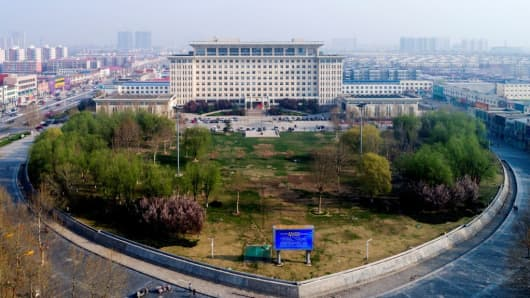 China's new economic district Xiongan punishes property speculators