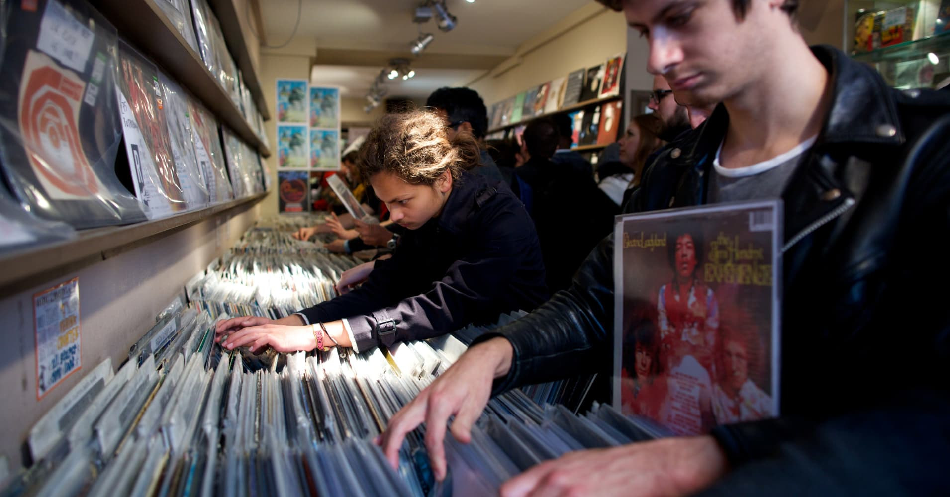 Vinyl is vintage and the future, as new generation warms to an old music form