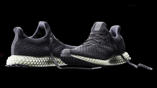 Adidas is going to sell 100,000 sneakers with 3-D printed soles