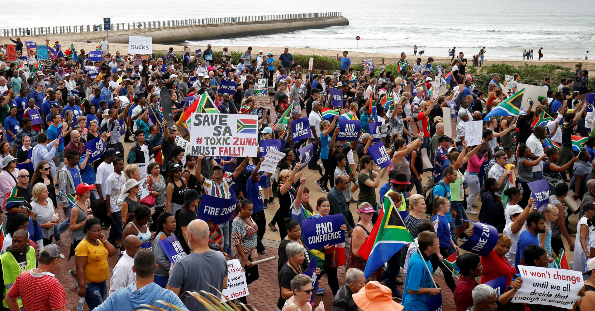 Why South Africa's slide to 'junk' remains a local story rather than a global one