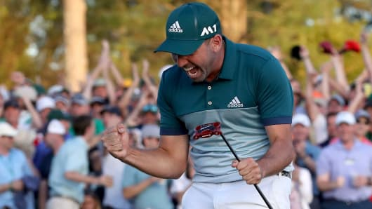 Pro golf: Finally, it's Sergio's time