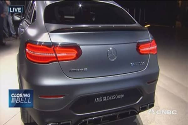 Mercedes CEO unveils new SUV