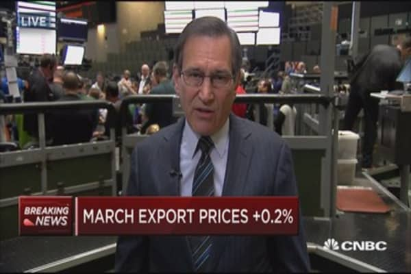 March import prices down 0.2%