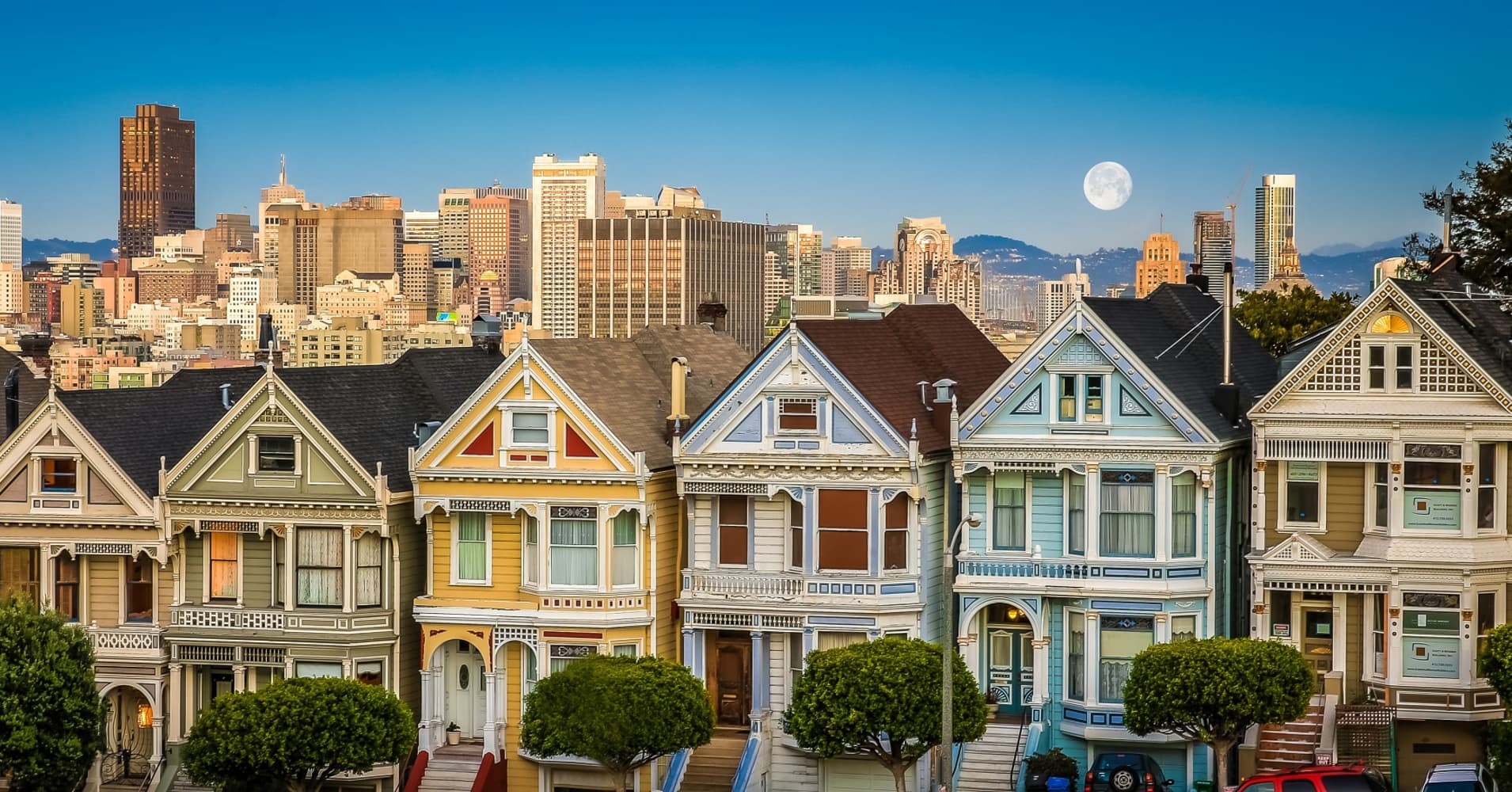 Who Lives In San Francisco S Painted Ladies
