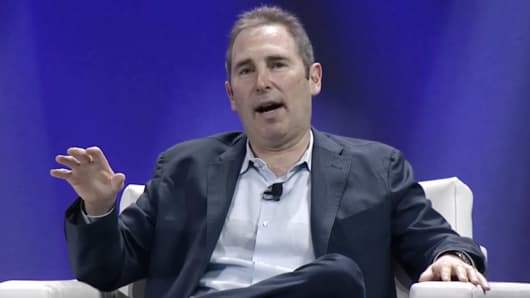 Andy Jassy, CEO of Amazon Web Services and Infrastructure.