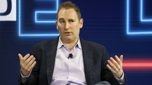 Andy Jassy, chief executive officer of web services at Amazon.com Inc.