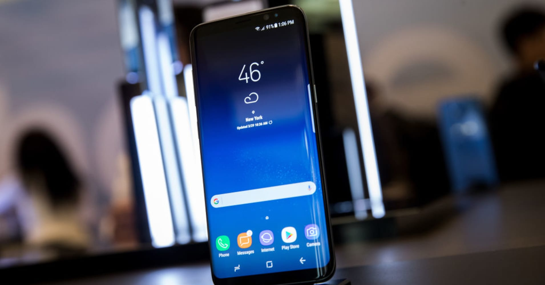 Samsung says it's fixing the one flaw users found in the Galaxy S8