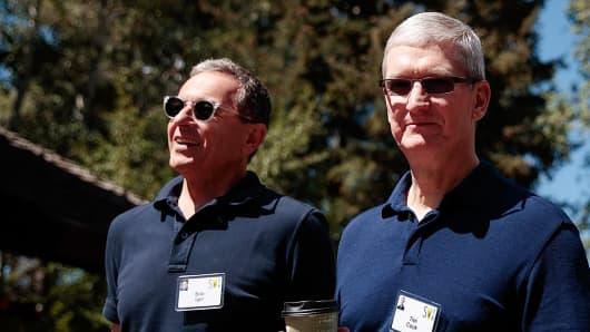 Apple Rumored To Buy Off Disney In Mega