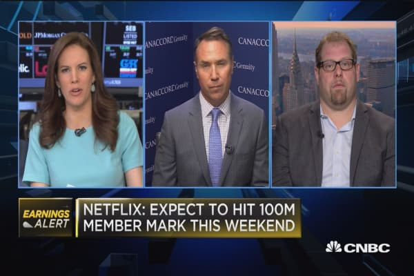 Graham: A 'little bit of lumpiness' for Netflix