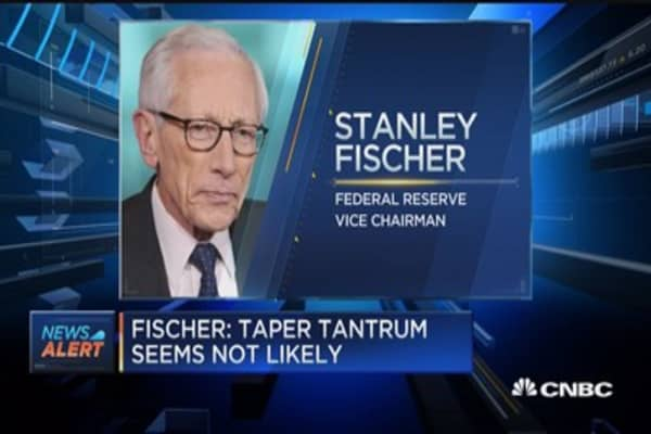 Fed's Fischer: Taper tantrum seems not likely