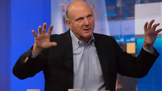 Ex Microsoft CEO Steve Ballmer offers facts on government