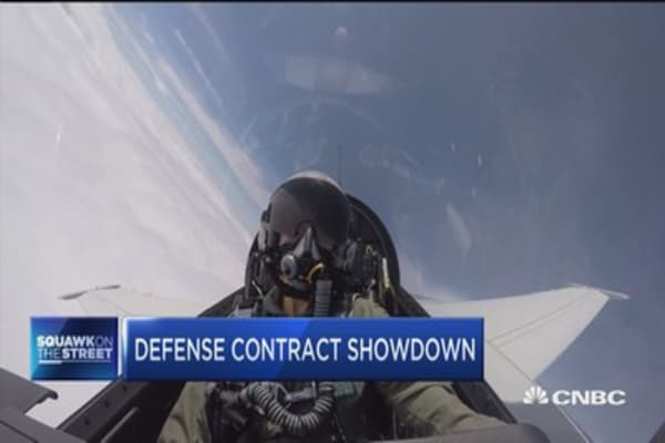 Defense contractor showdown between Lockheed and Boeing