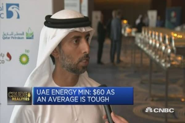 Want to see mid $60s oil price: UAE energy minister