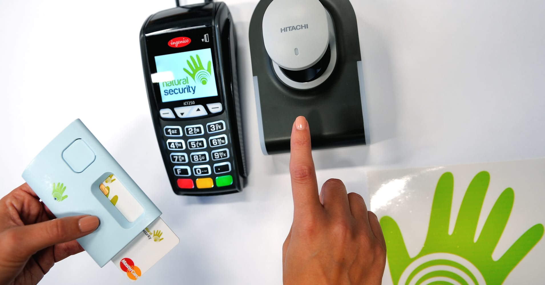 Mastercard creates credit card with fingerprint scanner