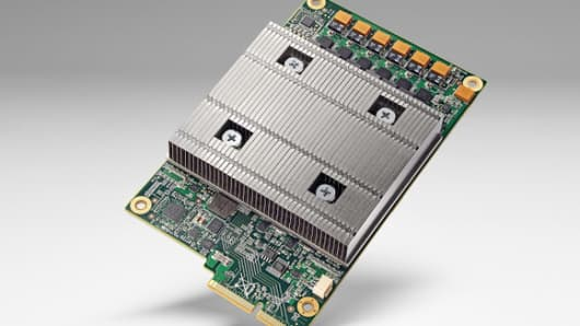 Google's tensor processing unit or TPU.
