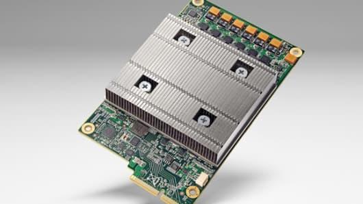 Google's tensor processing unit or TPU.
