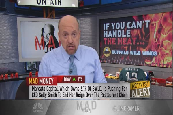 Cramer breaks down the real power of activist funds to change a company's game