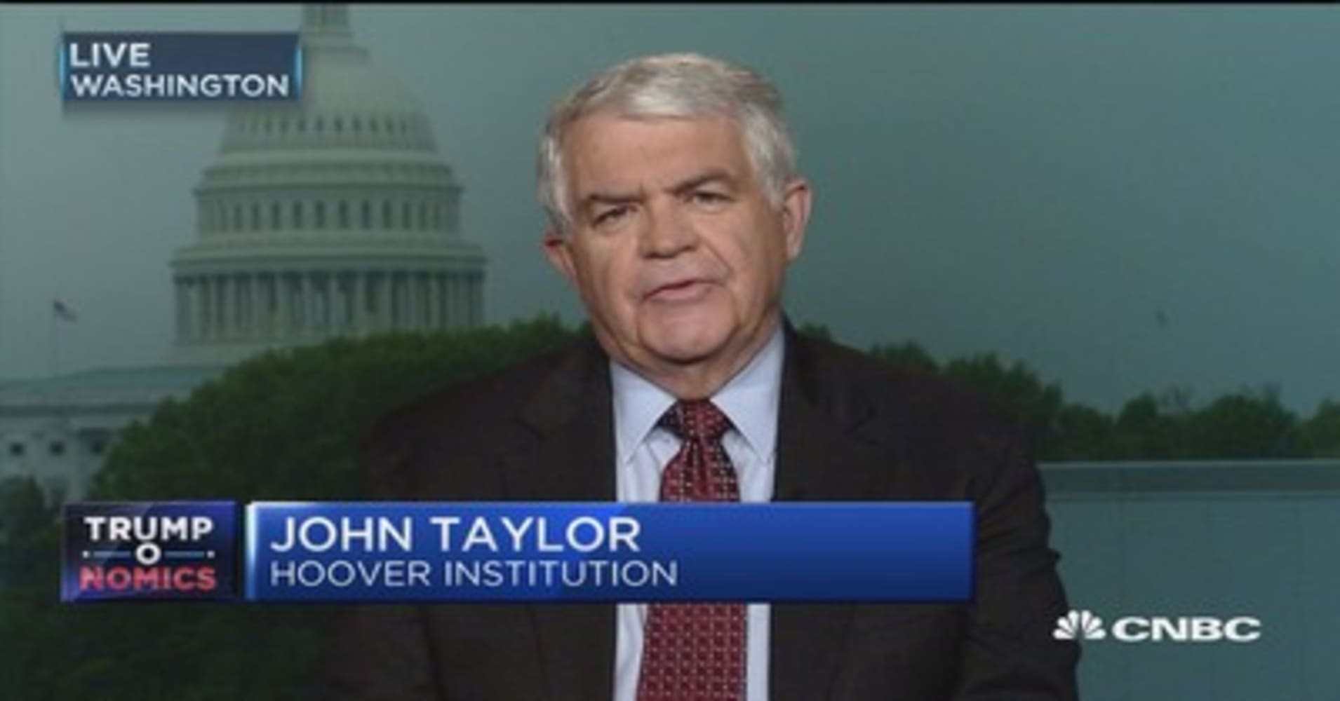 Full interview with former Treasury Undersecretary John Taylor on the economy, Federal Reserve