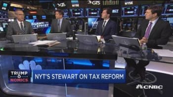 NYT's Stewart: Tax reform could be huge pro-growth victory if done right