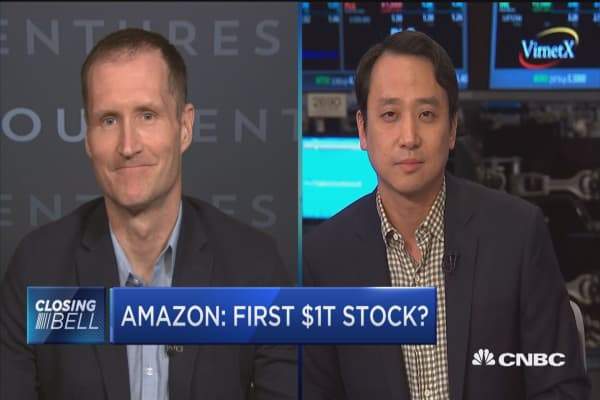 Amazon: First $1T stock?
