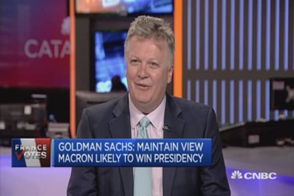 Macron's potential to implement agenda is challenged: Goldman Sachs economist