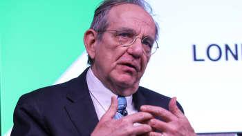 Pier Carlo Padoan, Italy's finance minister
