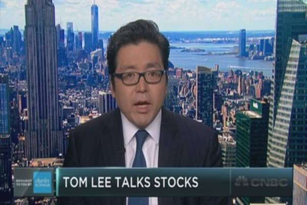 Why Tom Lee is worried about stocks