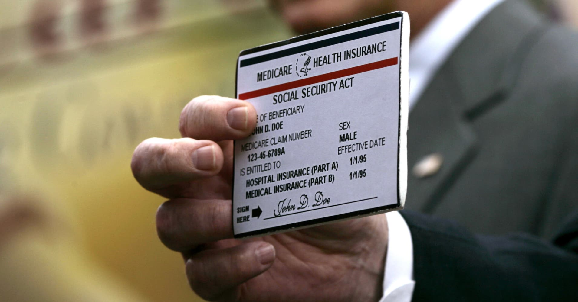 The government will fix this Medicare mistake next April