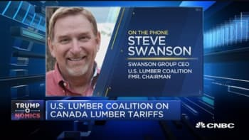 Swanson Group CEO: Canadian lumber tariff 'simply isn't unfair'