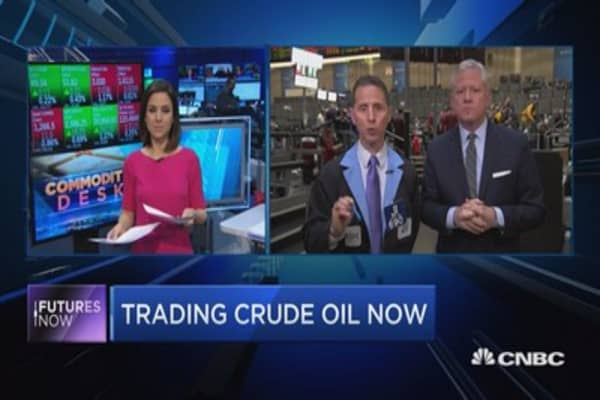 The line in the sand for crude: Trader