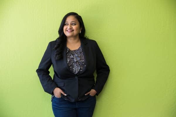 Kamakshi Sivaramakrishnan, founder and CEO of Drawbridge