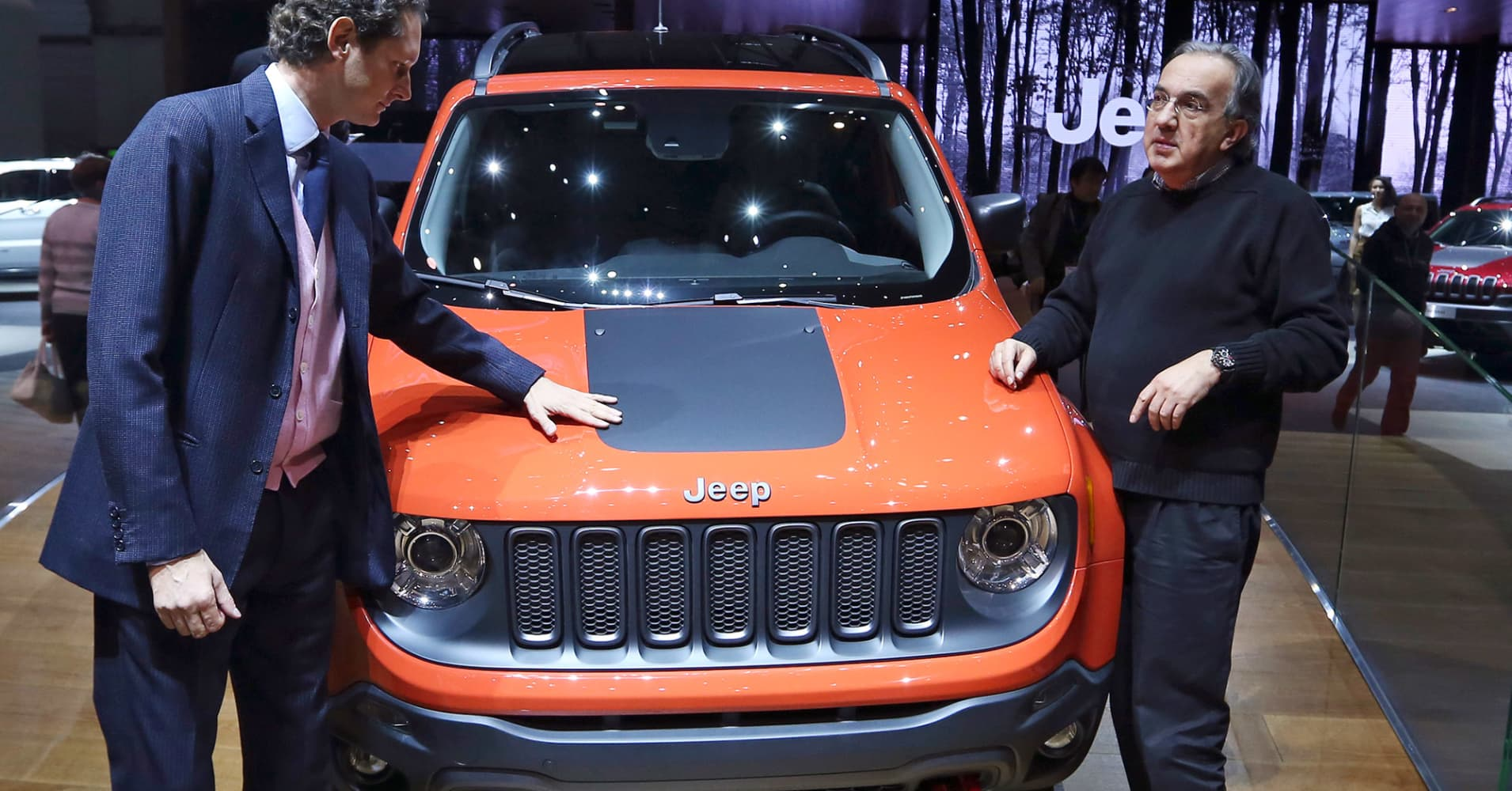 Fiat Chrysler CEO says Jeep, Ram are strong enough brands to follow in Ferrari's footsteps