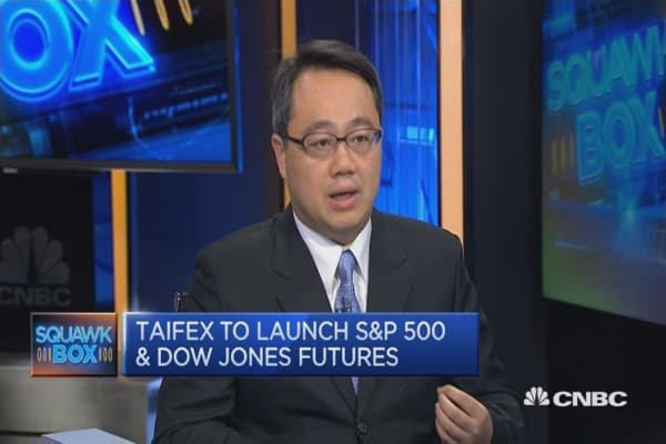 Taifex to launch S&P 500, Dow Jones futures