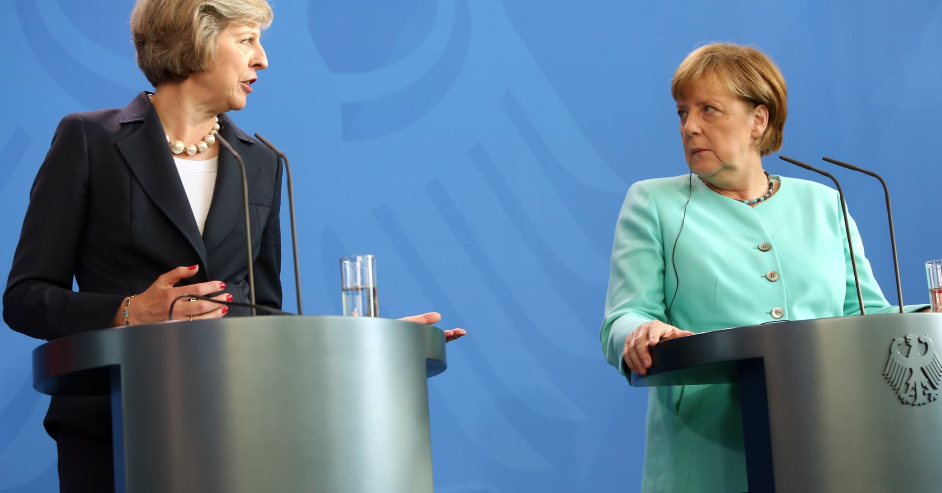 Merkel warns Britons: don't delude yourself over Brexit