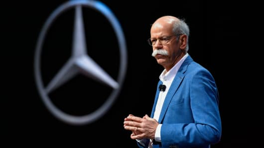 After vw s record fine mercedes benz parent daimler could for Mercedes benz germany careers