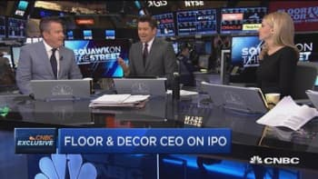 Floor & Decor CEO on IPO