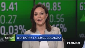 Biopharma earnings bonanza