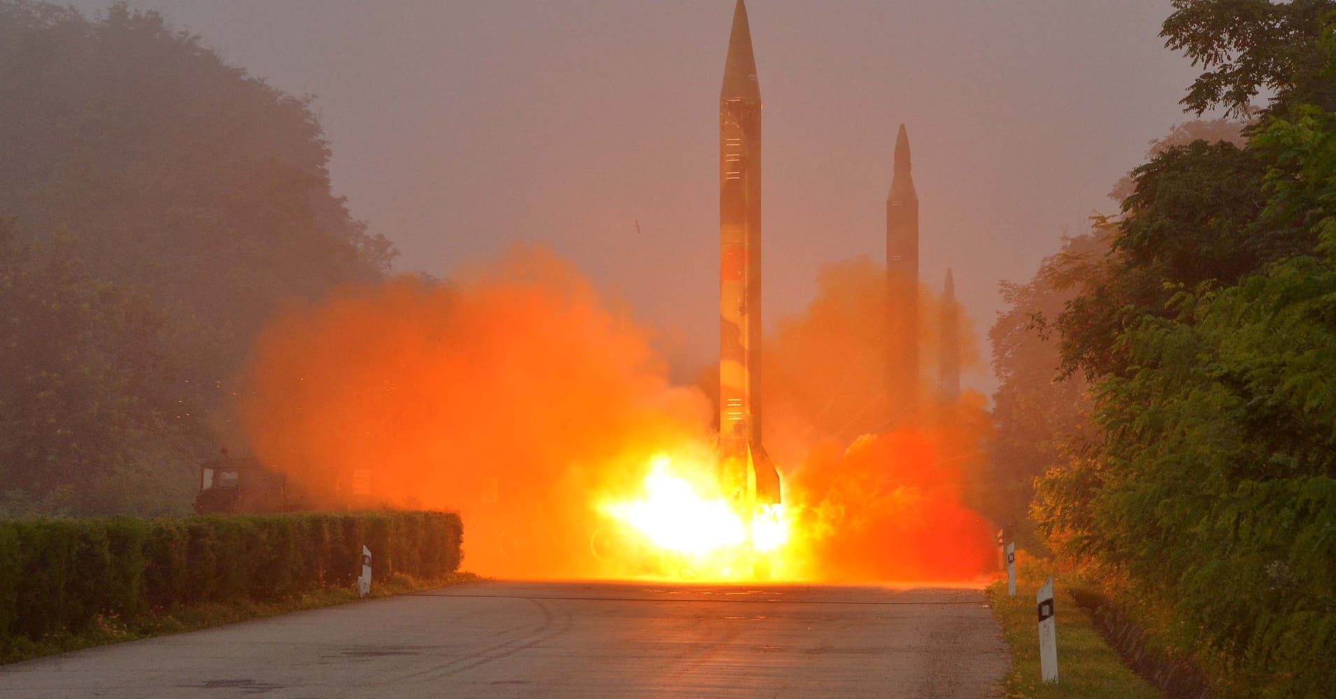 North Korea ballistic missile test fails, NBC News confirms