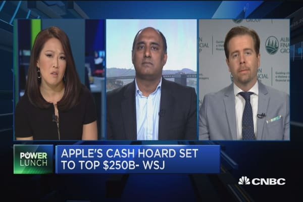 Analyst: Apple shares should continue to work higher