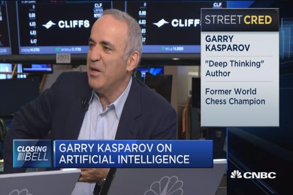 Garry Kasparov: Every profession will feel the pressure of AI