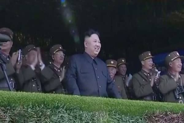 North Korea says the U.S. is pushing the peninsula to the brink of nuclear war