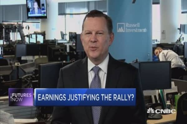 Strong earnings not enough to support 'Trump' rally: Strategist