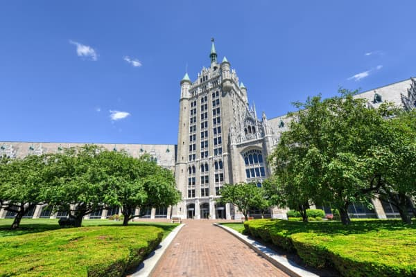The SUNY system administration building