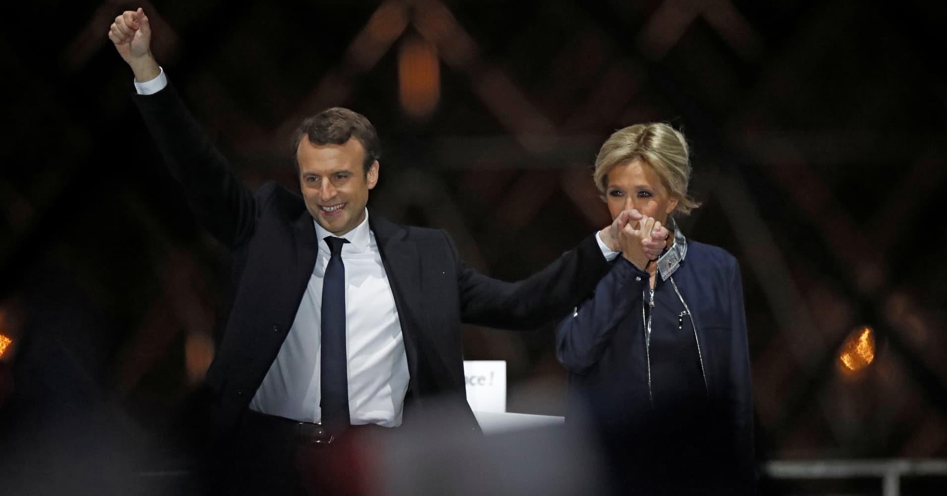 Making sense of the currency market's strange reaction to the French election